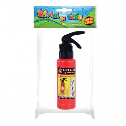 Water gun fire extinguisher