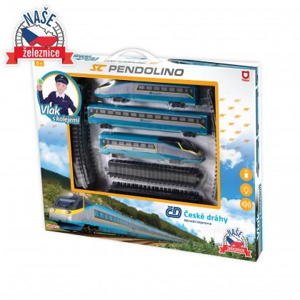 Czech Railways SC Pendolino train