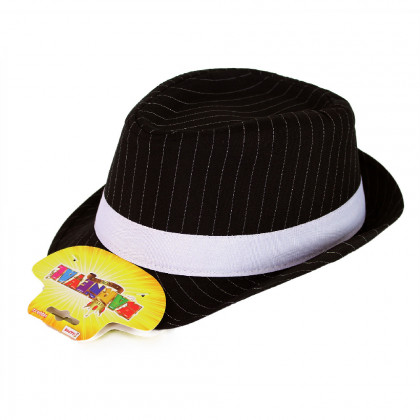 Hat with a stripe for adults
