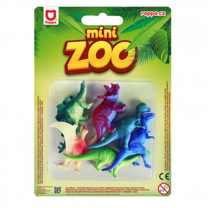 Dinosaur 6 pcs on a blister