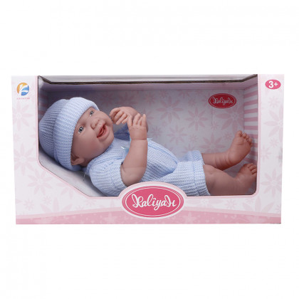 Baby doll 38 cm blue