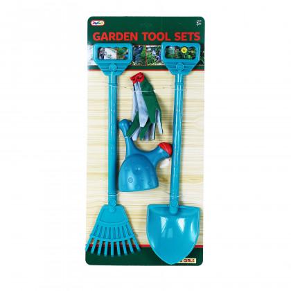 Garden set with gloves 4 pcs