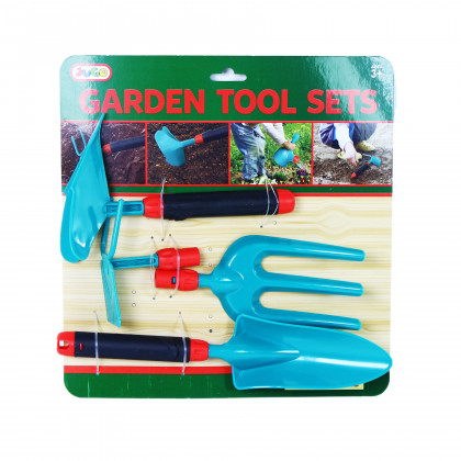 Garden tools in a set of 4 pcs
