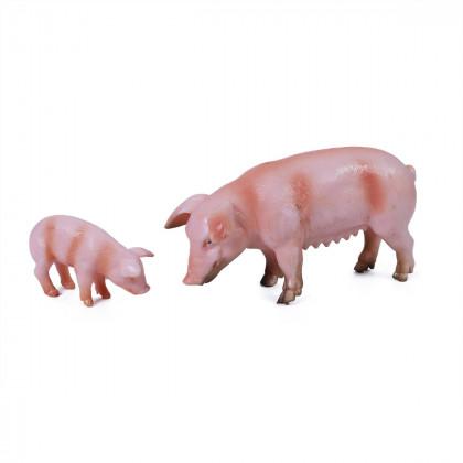 Farm animals 2 in 1 - pigs