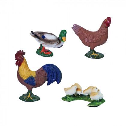 Farm animals 4 in 1 - chicken