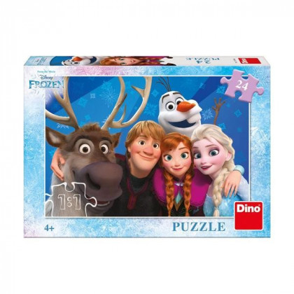 puzzle 24 pieces Selfie FROZEN