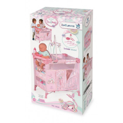 Cot for dolls with 5 acc.