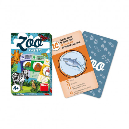 the quartet card game ZOO