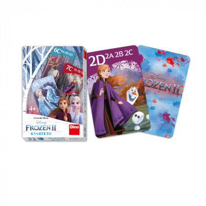 the card game Quarteto FROZEN 2