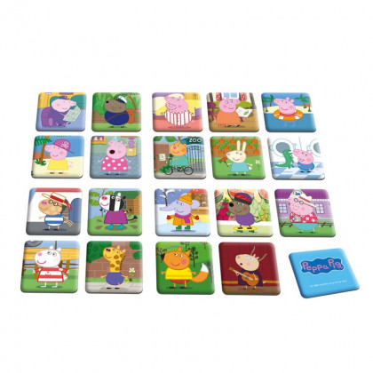 the pexeso pairs game Peppa Pig