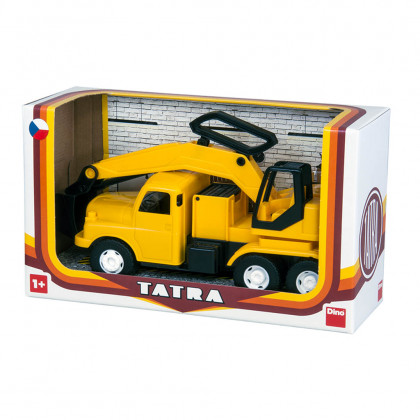 the car Tatra 148 excavator, plastic 30c