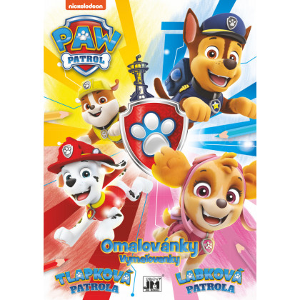 A4 Paw Patrol coloring page