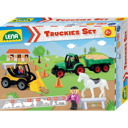 Car Truckies set farm