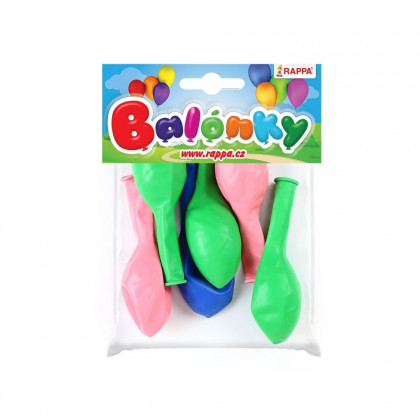 the Balloon inflatable 30cm 6 pcs in bag